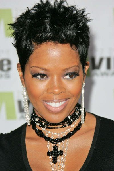 short hair styles worn by malinda williams gallery malinda williams short hair the layered mohawk