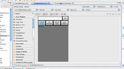 tutorial android studio webview android application development tutorial 89 create a