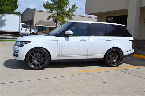 white range rover rims full size range rover on 24 quot velos solo v forged wheels
