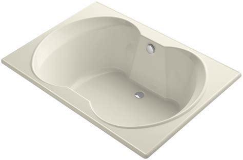 kohler bathtubs sale faucet com k 1227 47 in almond by kohler