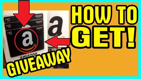 How To Find Amazon Giveaways - how to get amazon gift cards and codes giveaway 2015