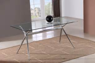 Glass Dining Tables T058 Glass Dining Table J M Furniture
