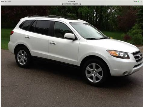 Hyundai Santa Fe For Sale By Owner by 2007 Hyundai Santa Fe For Sale By Owner In Hudsonville Mi