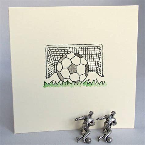 Handmade Football Cards - handmade football birthday card by chapel cards