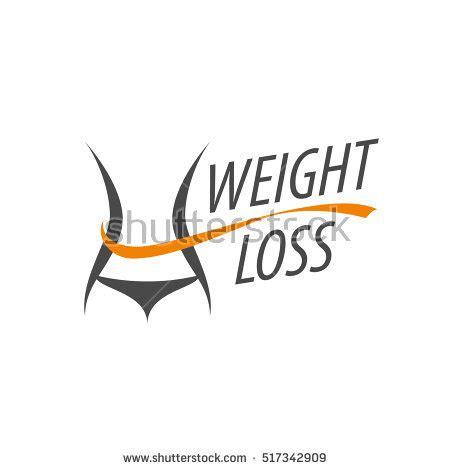 Fatlos Logo Japanese weight loss logo 스톡 벡터 517342909
