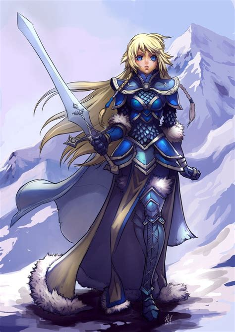 nordic knight armor nordic paladin female by felsus paladins pinterest
