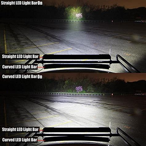 spot or flood led light bar 50 quot inch 480w spot flood combo cree curved led light bar