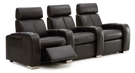 palliser lemans reclining home theater seating  cup