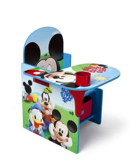 disney chair with desk delta children chair desk with storage bin disney mickey