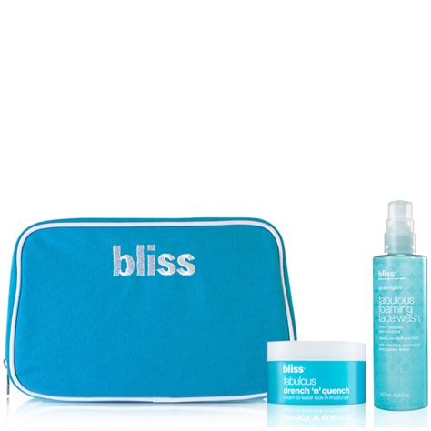 Bliss Detox Diet by Bliss Fabulous Dynamic Cleanse And Moisture Duo Worth 163 49