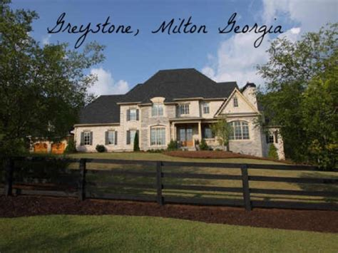 Greystone Estates Milton Georgia Luxury Homes Luxury Homes In Alpharetta Ga