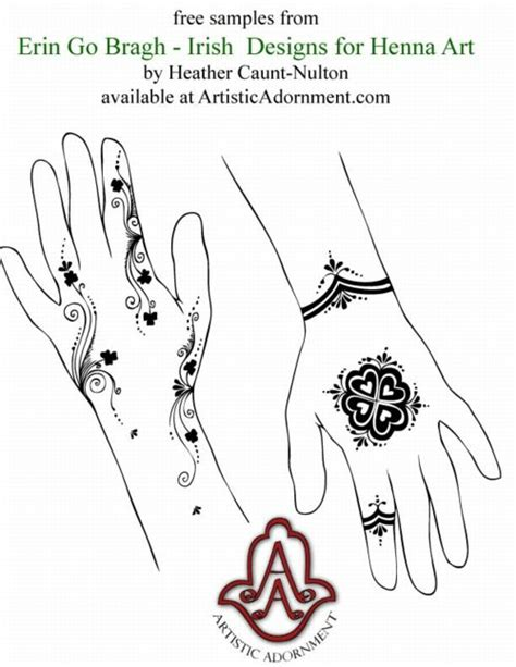 celtic henna tattoo designs free patterns henna by