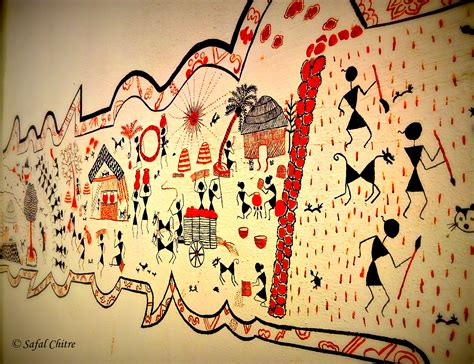 art on wall a guest post on warli arts by safal chitre peacocks in
