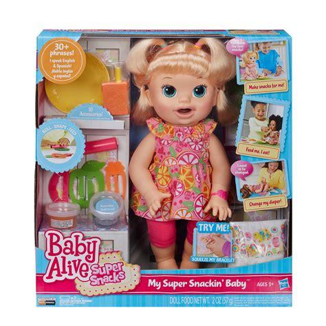 Baby Alive Snack Snackin Boneka Baby Alive Snackin baby alive snacks snackin toys