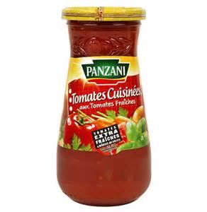sauce tomate panzani sauce pour pates