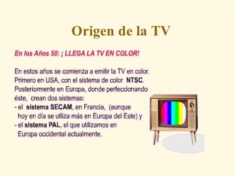 el origen de la origen de la tv