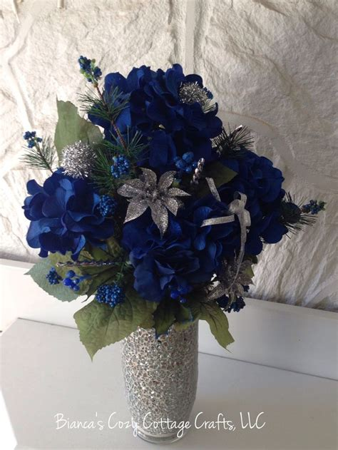 blue hydrangea flower arrangements 1000 ideas about blue flower arrangements on
