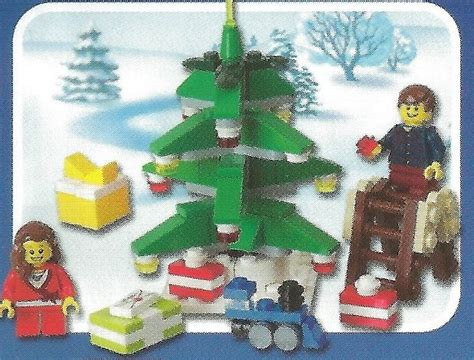 Lego 40058 Decorating The Tree Polybag lego 40058 and 40059 a of new seasonal sets i brick city