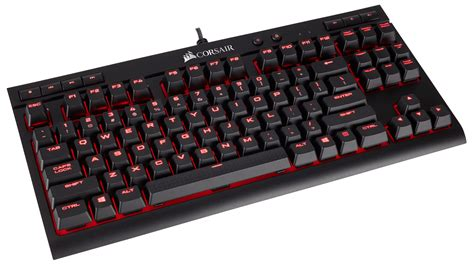Keyboard Gaming Corsair K63 corsair launches portable k63 mechanical gaming keyboard techspot