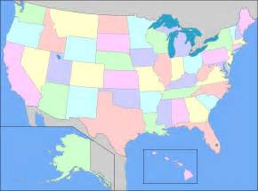 Map of united states