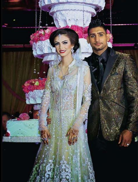 amir khan and faryal makhdoom wedding pictures amir khan and faryal makhdoom valima pictures pakium