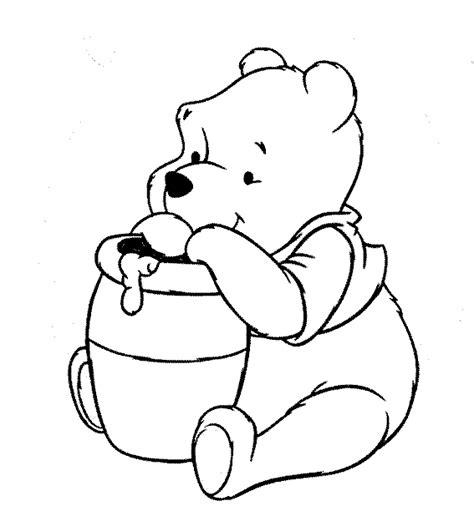 winnie pooh para pintar az dibujos para colorear dibujos para colorear y pintar de winnie pooh y sus amigos