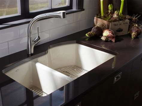 designer kitchen sinks kitchen sink styles and trends hgtv