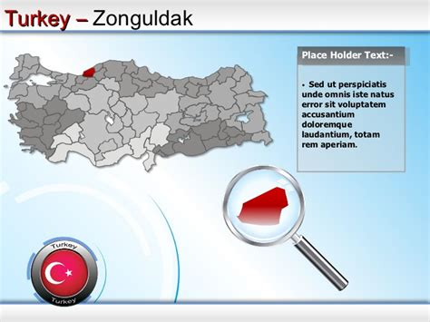 Turkey States Powerpoint Map Ppt Templates Turkey Powerpoint Template