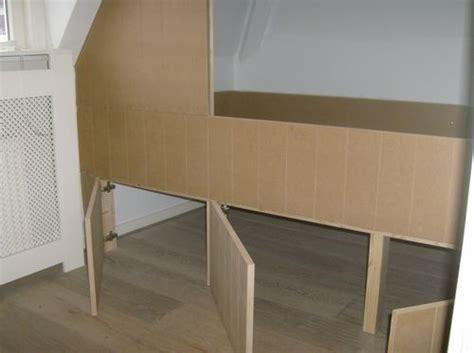 inbouwkast frame kleding kast en onder het bed 3 opbergbakken bedstede