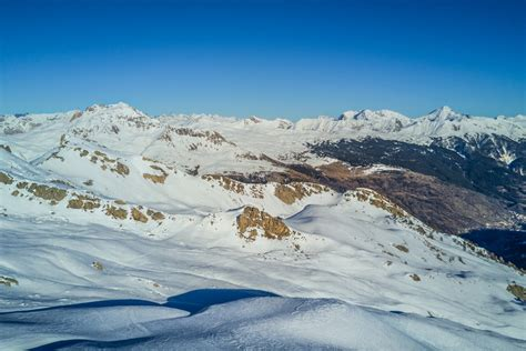 serre french serre chevalier french alps france dronestagram