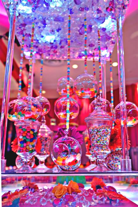 sweet themed event design 6 ideas for candy centerpieces mitzvah sweet 16 party