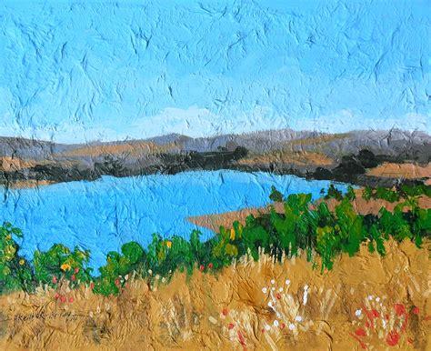 acrylic paint on canvas landscape landscape painting eghoartculture