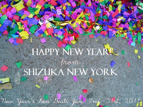 Confetti Omedetto vol 147 new year s spa deals happy 2015 shizuka new york day spa