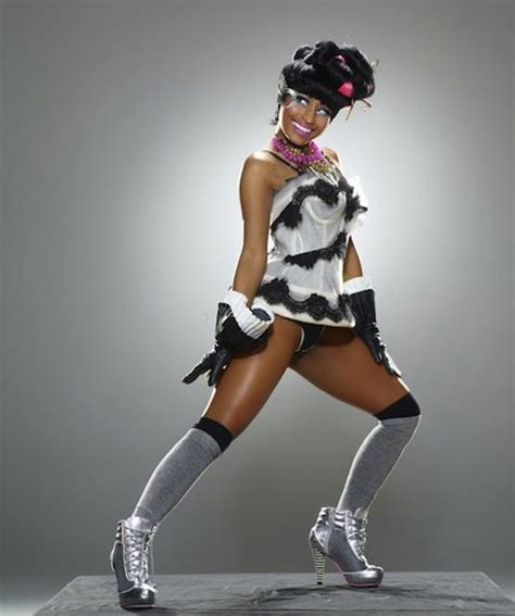 nicki minaj workout routine nicki minaj silver high heels