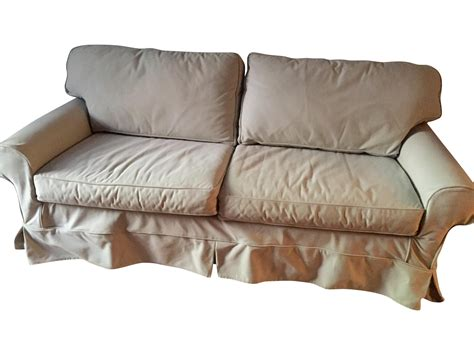 mitchell gold sofa slipcovers mitchell gold slipcover sleeper sofa chairish
