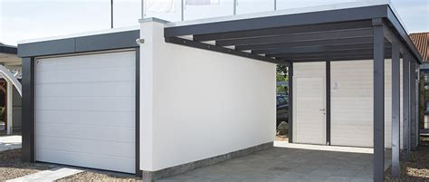 carport gro carports aus metall design metall carport aus holz stahl