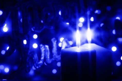 Blue Candles Our World With Type 1 Diabetes A Blue Candle Is Lit A