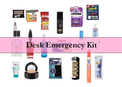 desk emergency kits for stains wardrobes and