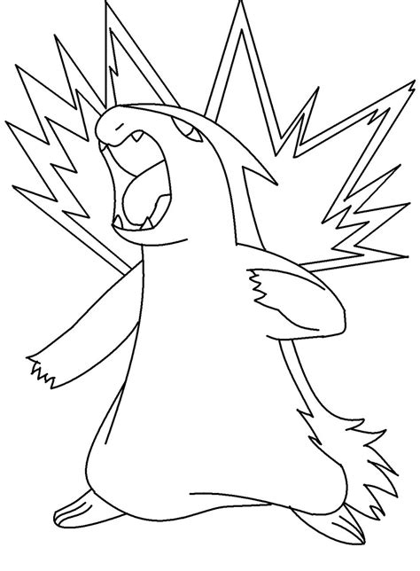 pokemon coloring pages quilava color in typhlosion by newdeadmaninc on deviantart