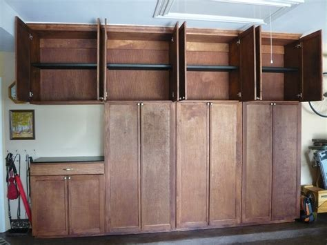 how to build plywood garage cabinets garage cabinets plywood garage cabinets