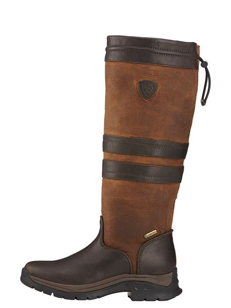 Country Boot 1 3 ariat womens braemar gtx leather country boot webury