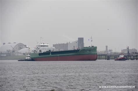 sleepboot nieuwbouw nieuwbouw arklow cape in de haven van delfzijl