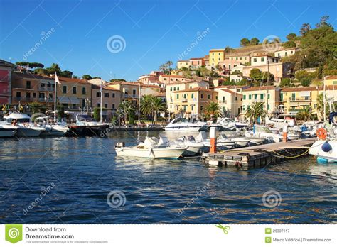web porto azzurro isola d elba porto azzurro royalty free stock