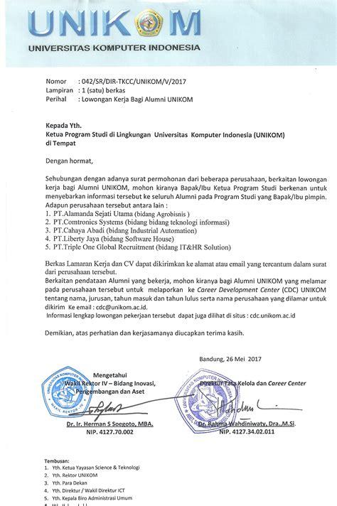 lowongan kerja desain komunikasi visual bandung unikom universitas komputer indonesia