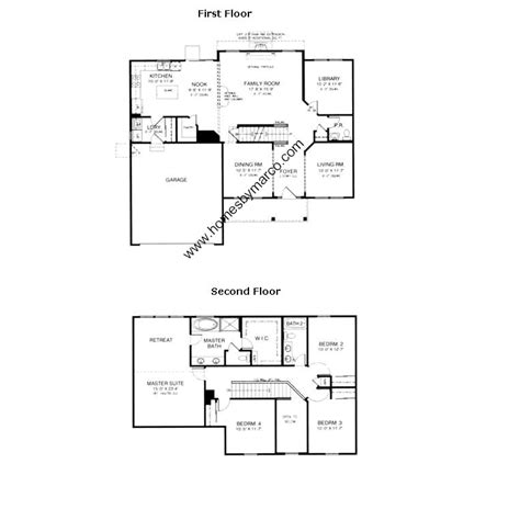 wilshire homes floor plans wilshire model in the carrington reserve subdivision in