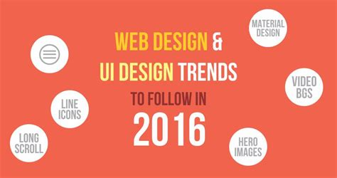 design trends 2016 web design and ui design trends to follow in 2016