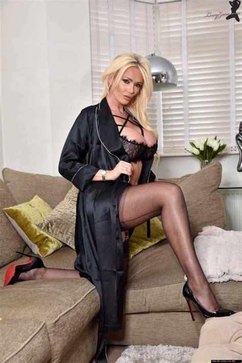 Lucy Zara Cougar In Lingerie