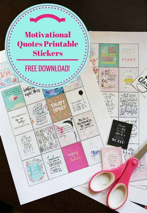 free printable stickers erin condren printable planner quotes calendar template 2016