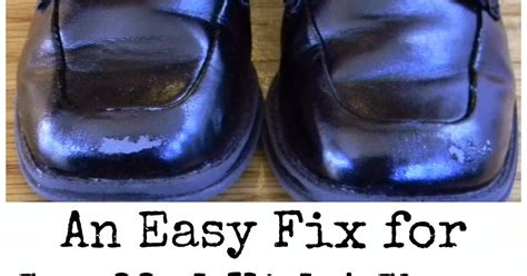 Leather Scuff Repair by Pinspired Home Tips Tricks Thursday An Easy Fix For