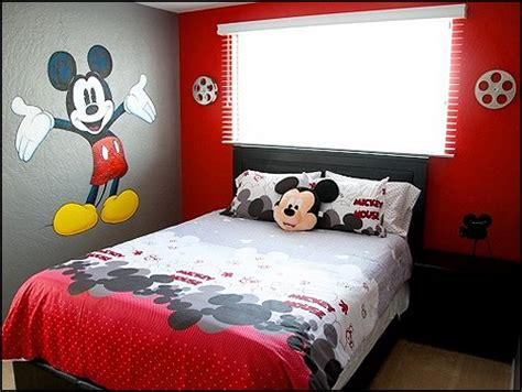 Mickey Mouse Bedroom Designs Decorating Theme Bedrooms Maries Manor Mickey Mouse Bedroom Ideas Minnie Mouse Bedroom